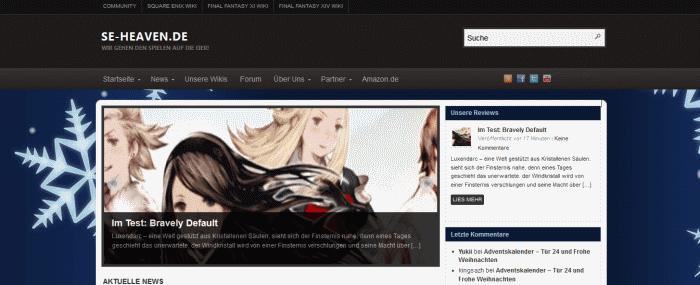 Neues-Webseitendesign