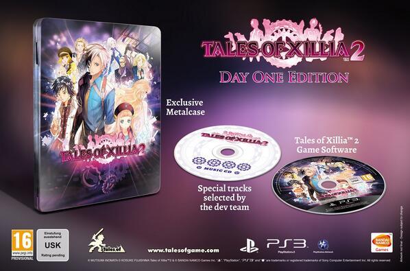 Release Datum für Tales of Xillia 2 bekannt (Day One Edition)