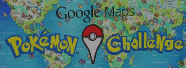 Werdet Pokémon Meister mit Google Maps!