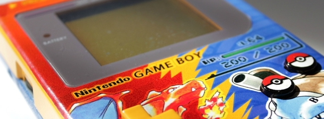 Game Boy Fan-Art der besonderen lative