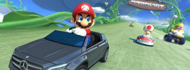 Japan Mercedes Benz trifft auf Mario Kart