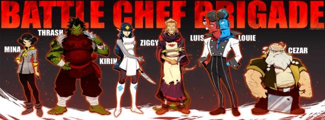 Battle Chef Brigade auf Kickstarter