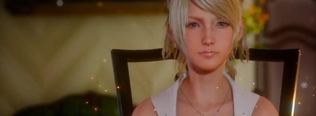 Charakter Luna aus Final Fantasy XV enthüllt