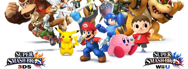 Das ist Super Smash Bros for Nintendo 3DS