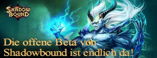 Shadowbound - Open Beta ab 10 Uhr