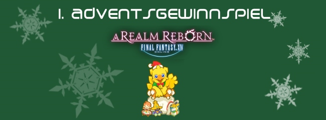 Adventsgewinnspiel #1 - Schnappt euch das Final Fantasy XIV-Fan Paket
