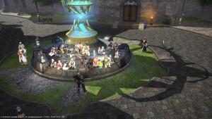 Eine Community hält Nachtwache für einen sterbenden Spieler - Hyperion