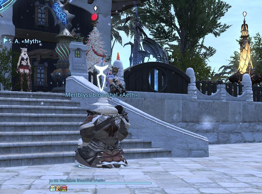 Eine Community hält Nachtwache für einen sterbenden Spieler - Screenshot 1