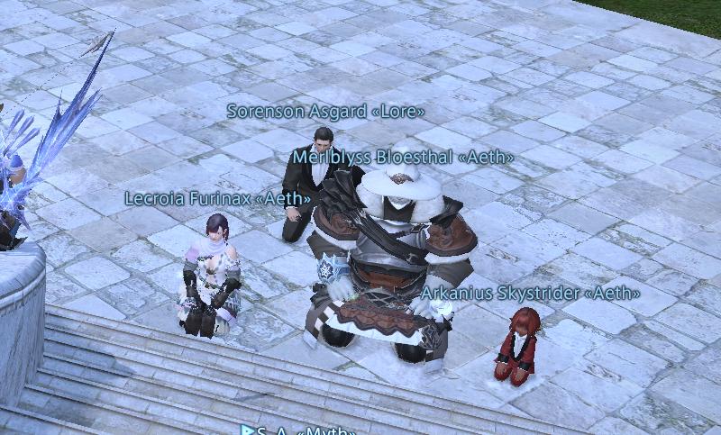 Eine Community hält Nachtwache für einen sterbenden Spieler - Screenshot 2