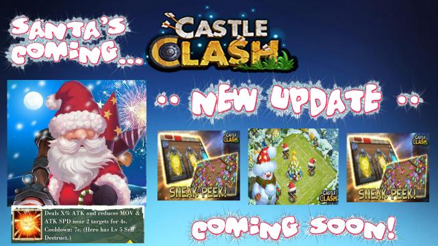 Nächstes Update bringt Weihnachten nach Schloss Konflikt - Sneak Peek