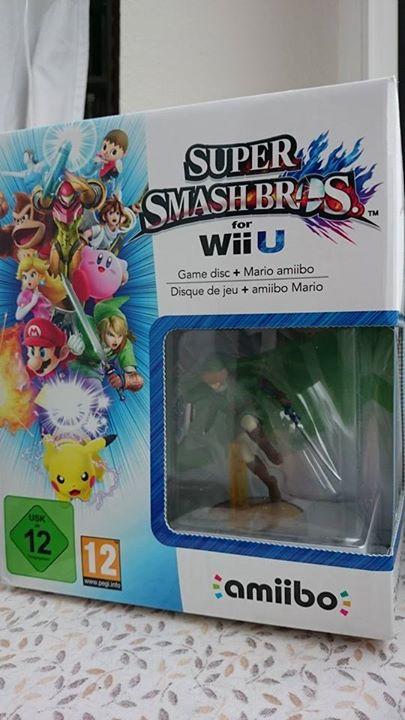 SuperSmashBros Wii U mit Link