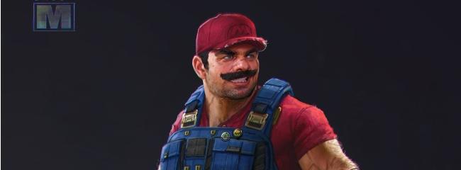 Andrew Domachowski pimpt Super Smash Bros Charaktere