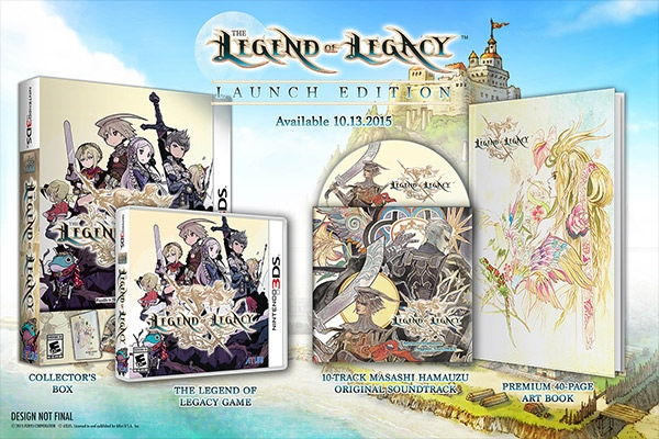 The Legend of Legacy - Launch Edition für Nordamerika 01