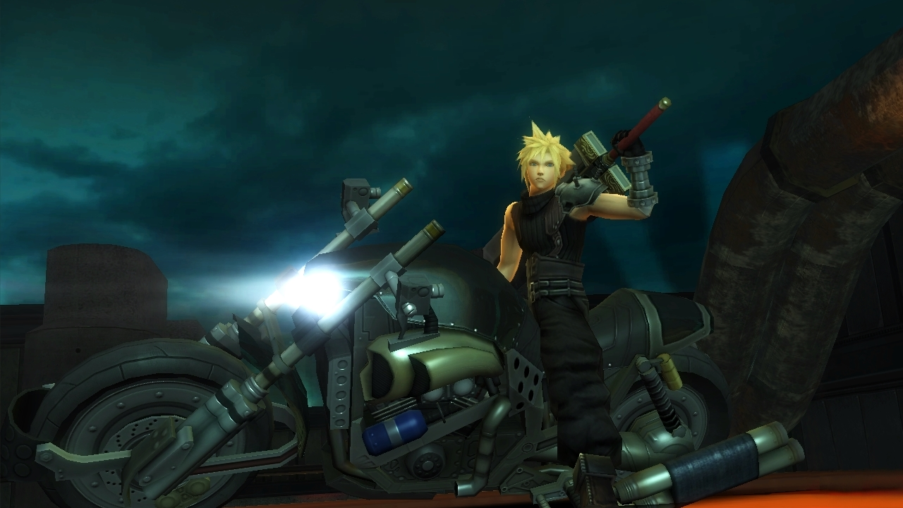 Final Fantasy VII G-Bike - Screenshot 03