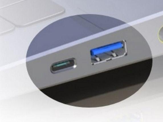 Vergleich: USB 3.0- und USB 3.1-Buchsen