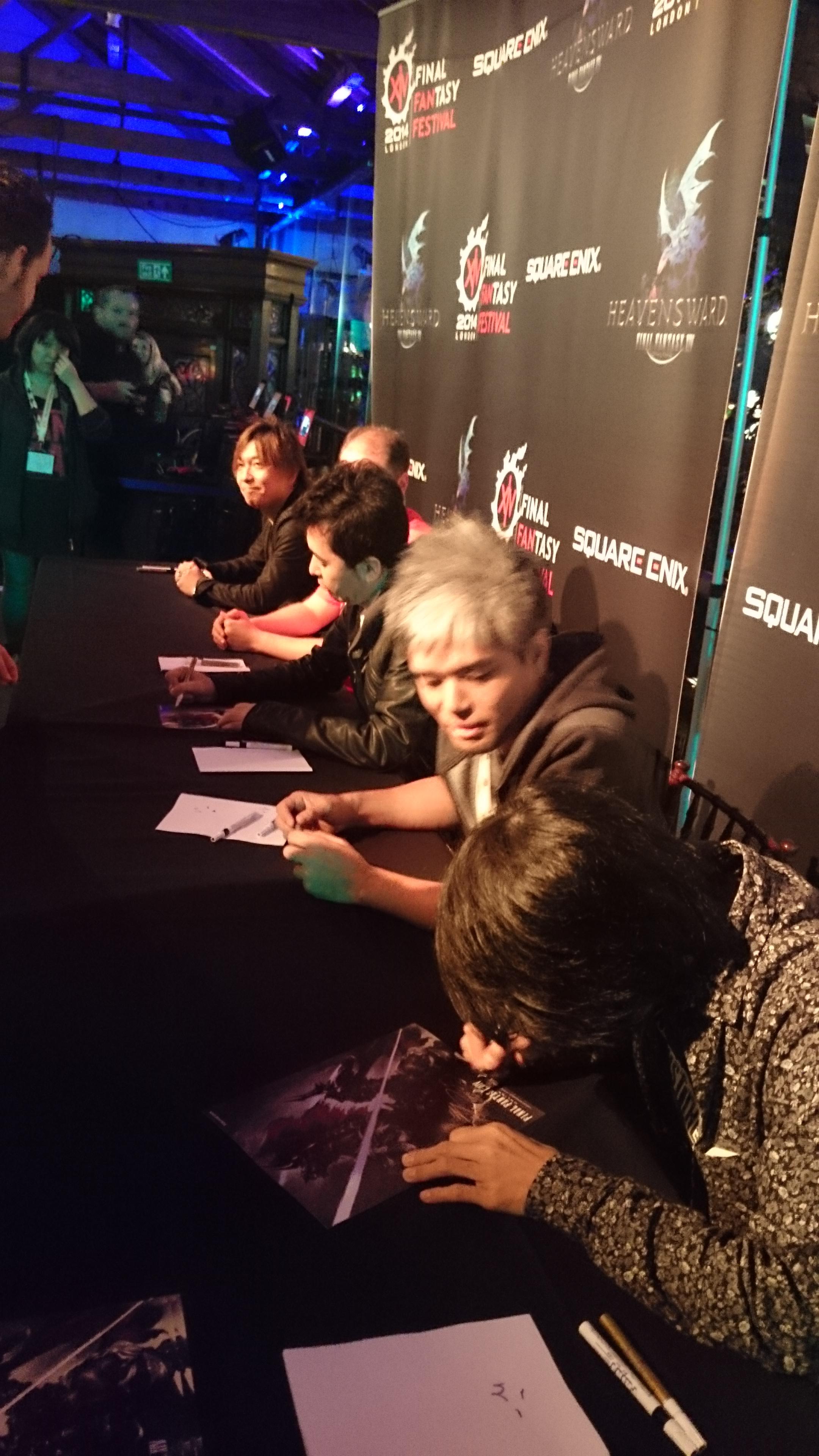 Von unten nach oben: Soken Masayoshi, Toshio Murouchi, Hiroshi Takai, Michael-Christopher Koji Fox und Naoki Yoshida