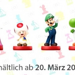 Nintendo Direct Neue Amiibo-Figuren angekündigt - Super Mario-Serie