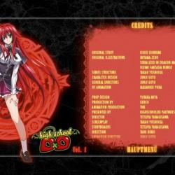 [AR] - Highschool DxD Volume 1 - DVD-Menü05