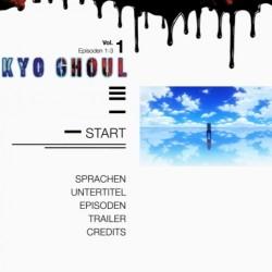 [AR] - Tokyo Ghoul Volume 1 - DVD-Menü01