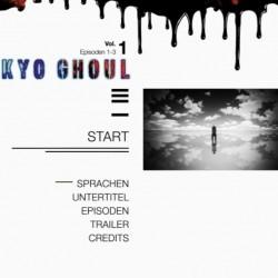 [AR] - Tokyo Ghoul Volume 1 - DVD-Menü03