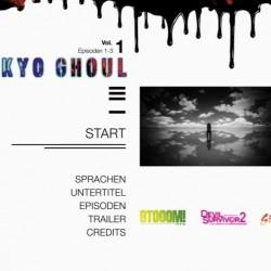 [AR] - Tokyo Ghoul Volume 1 - DVD-Menü05