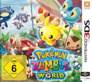 Pokémon Rumble World © Pokémon ©Nintendo ©Creatures inc.  ©GAME FREAK inc.