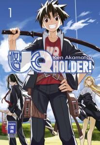 UQ Holder! ©Ken Akamatsu ©Egmont Manga