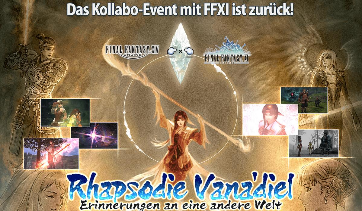 Ffxiv Rückkehr Des Ffxi Kollaborations Events Rhapsodie Vanadiel