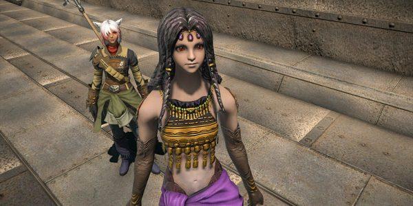 Alpa, Tochter des Stammesfürsten der Vira