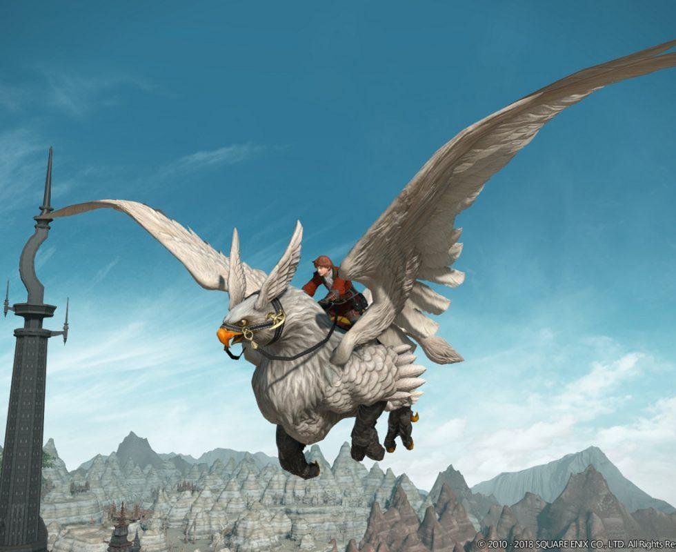 Der Urgreif kann fliegen. Quelle Square Enix