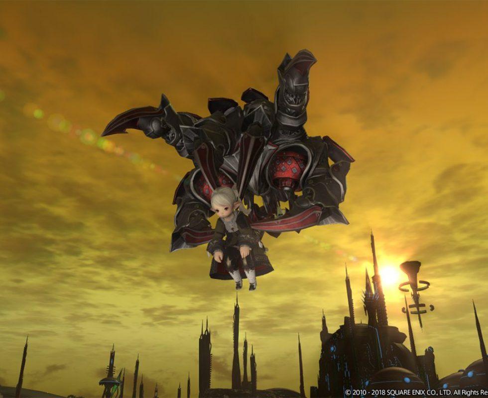 Die Magitec-Todesklauen tragen eure Charaktere durch die Welt. Quelle Square Enix