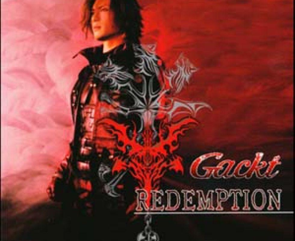 Gackt Redemption Titelbild des Albums