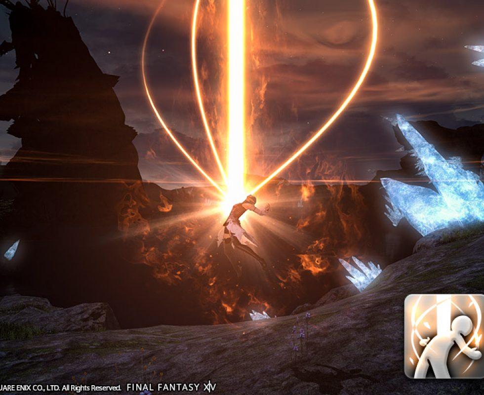 Emote: Megaflare (für einen Charakter)  Quelle: Final Fantasy XIV ©Square Enix