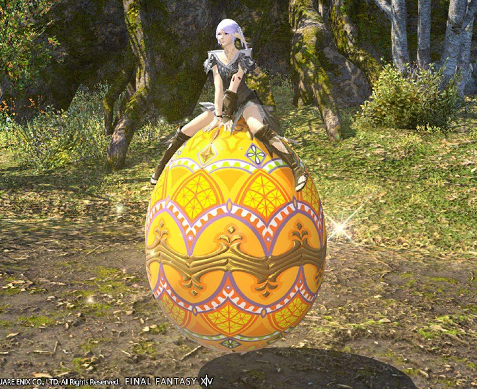 Reittier: Wundereisystem (für einen Charakter) Quelle: Final Fantasy XIV ©Square Enix