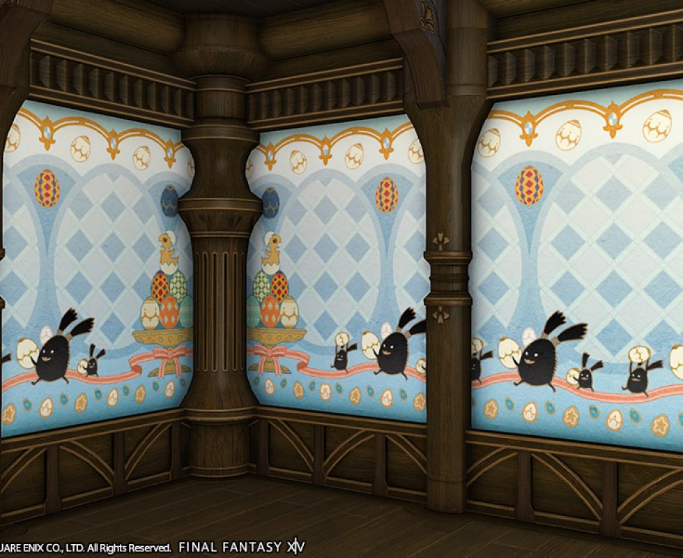 Exklusive Wundereier-Innenwand Quelle: Final Fantasy XIV ©Square Enix