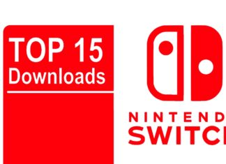 Nintendo Switch Top 15 Downloads