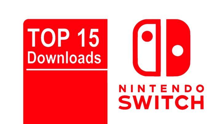 Nintendo Switch Top 15 Downloads