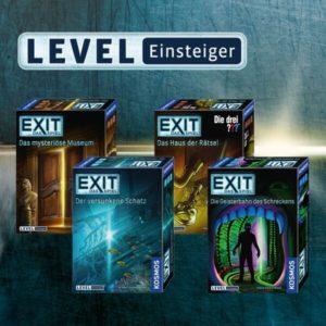 EXIT-Games vom Kosmos Verlag