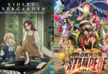 Gewinnspiel je 2x2 Kinotickets zu One Piece sowie Violet Evergarden
