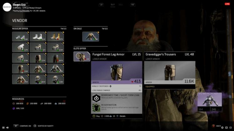 Outriders Reveal Stream Screenshot09