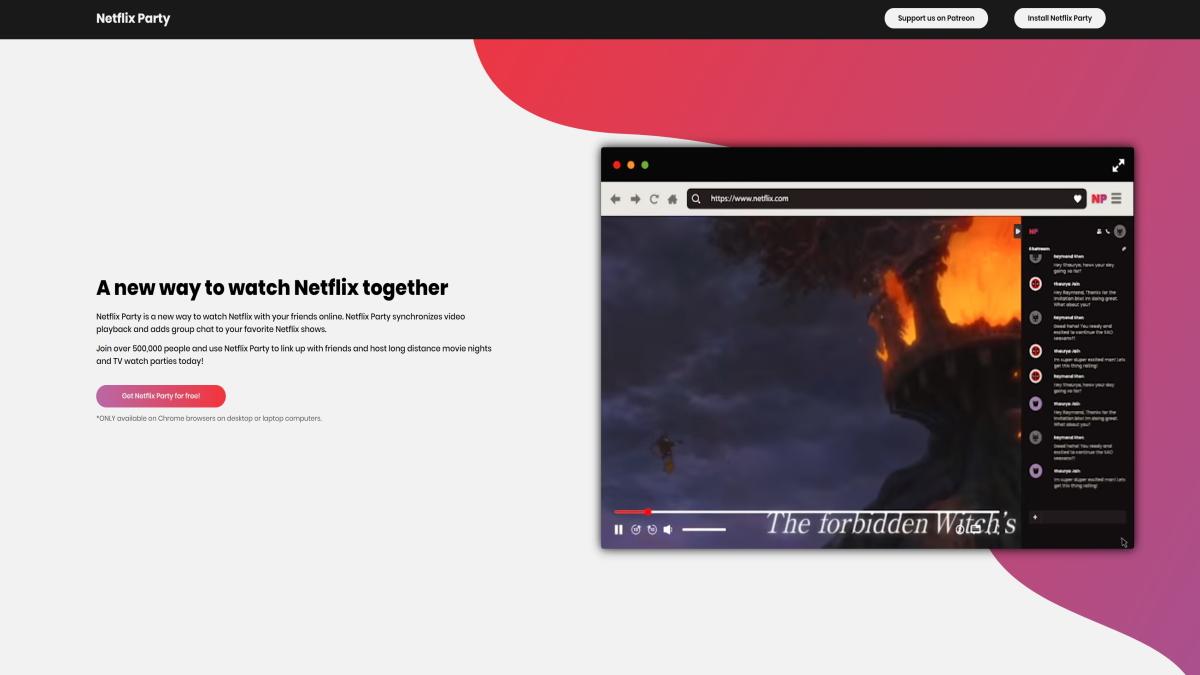 Netflix Party Filmeabend mit Freunden trotz Corona   Nerd & Otaku ...
