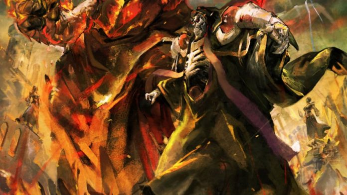 Overlord soll in drei Bänden enden