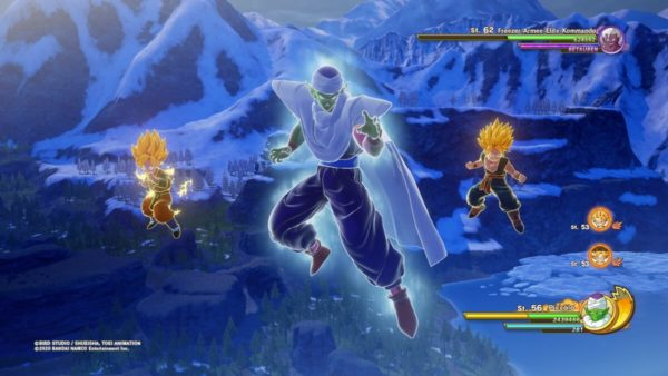 Review DragonballZ Kakarot - Bild18 GruppeAttacke