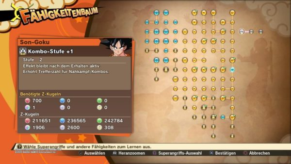 Review DragonballZ Kakarot - Bild32 GokuSkill