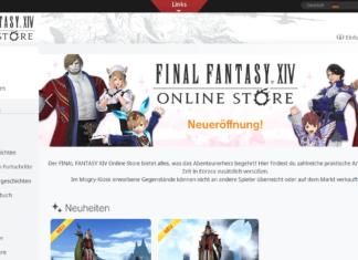 FFXIV: Neueröffnung Online Store