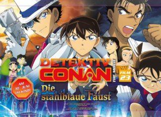 Filmkritik: Detektiv Conan – The Movie 23 – Die stahlblaue Faust