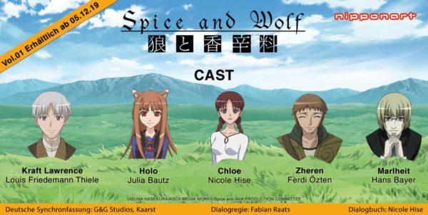 Spice & Wolf bald auf ProSieben MAXX