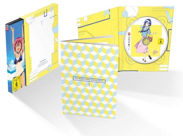 Design + Extras des ersten Volumes von We Never Learn veröffentlicht