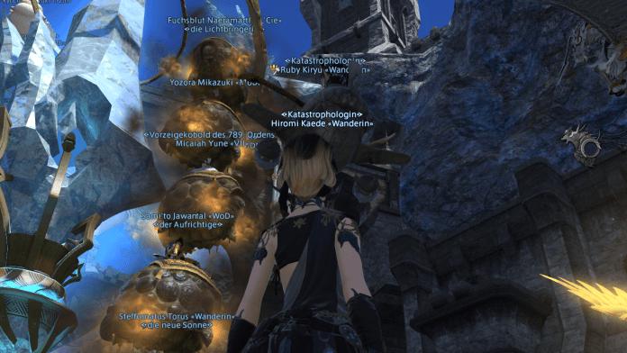 Final Fantasy XIV: Adaman-Taimai-Turm