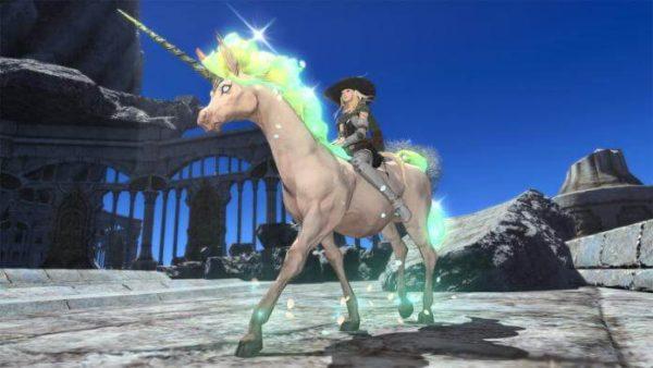 Final Fantasy XIV: Neues Reittier